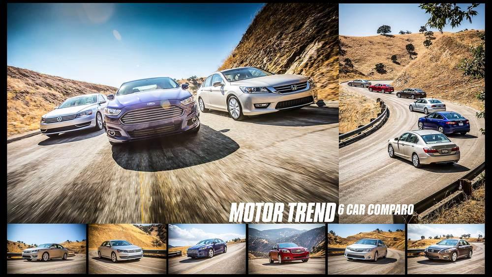 6Car Comparo, Automotive Photography Evan Klein