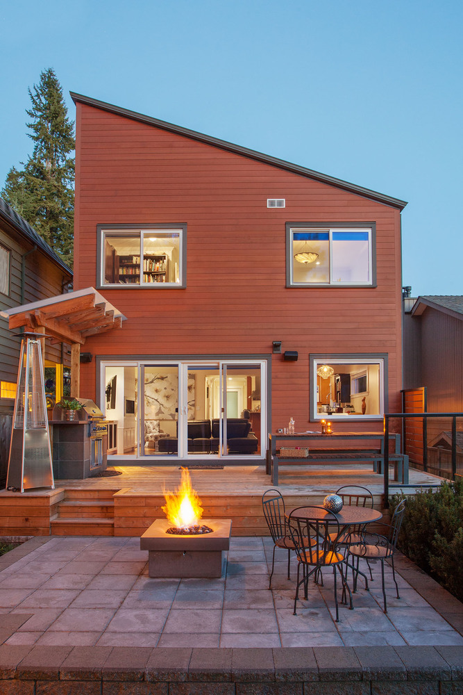 North Vancouver custom home, Home Design Photos,