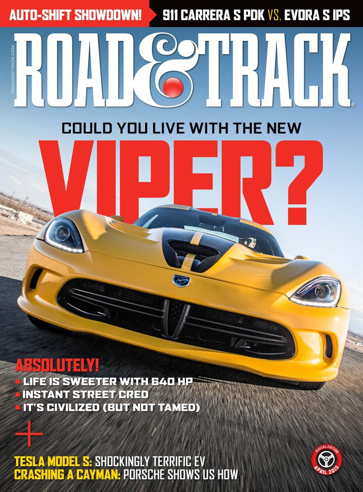Road and Track Viper Cover