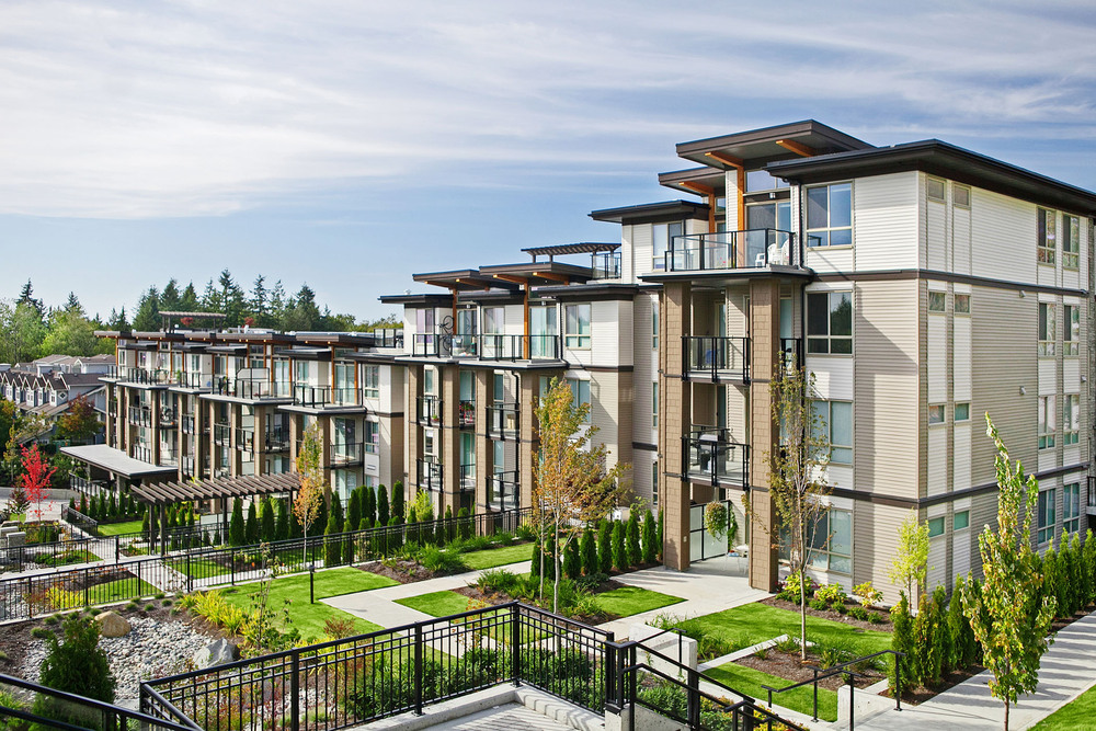 Leed platinum condo development, green building