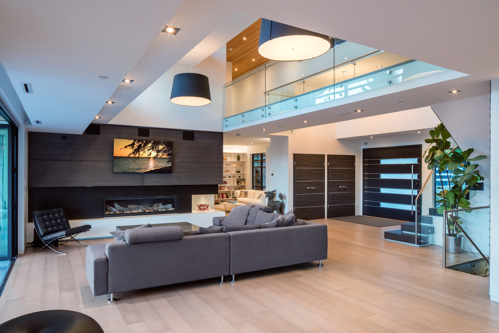 This Georgie Award Winning Interior was photographed for Paramax homes in West Vancouver