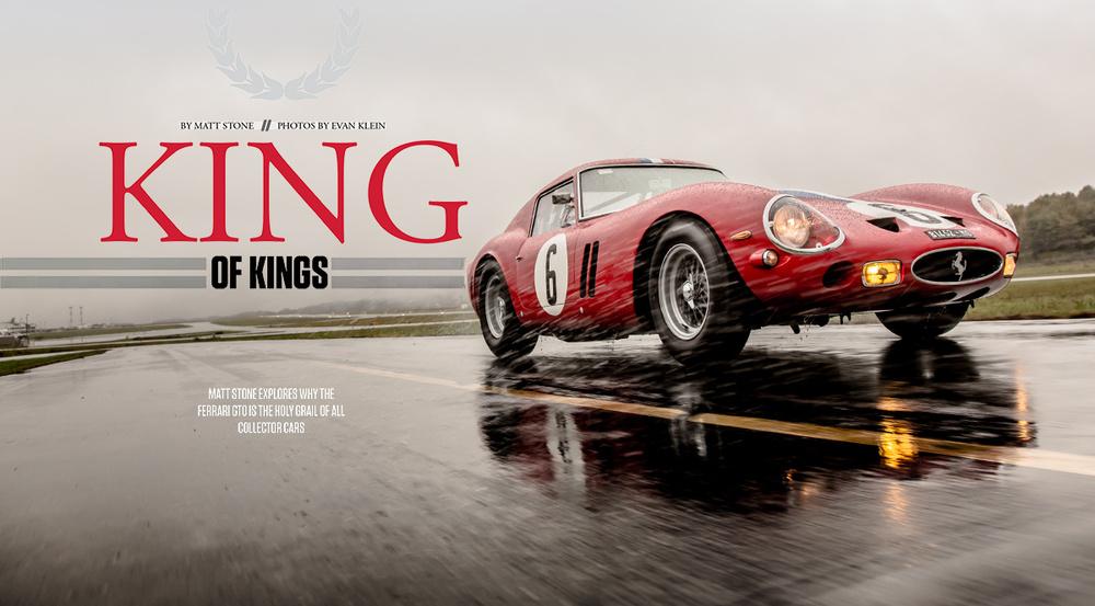 250 GTO, Automotive Photography, Evan Klein