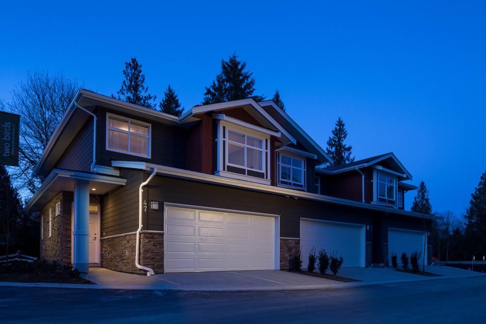 exterior of a house photograph