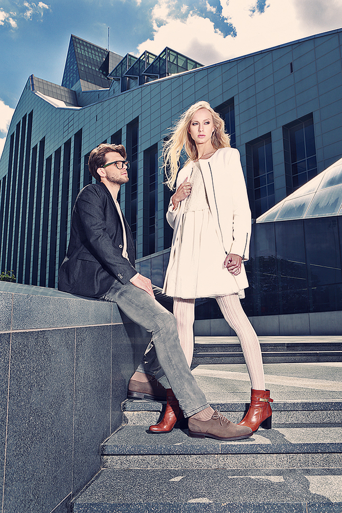 Riga Photo Shoot, Besson Chaussures 2015 Campaign