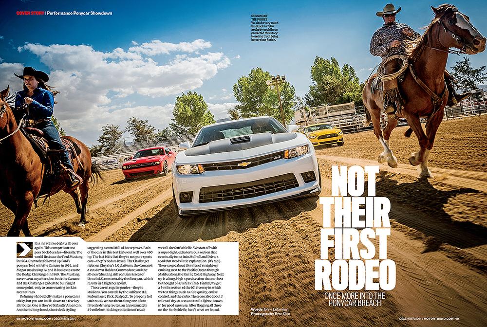 Motor Trend Camaro Mustang Challanger