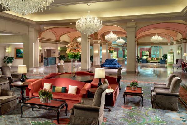 Omni Shoreham Hotel Lobby