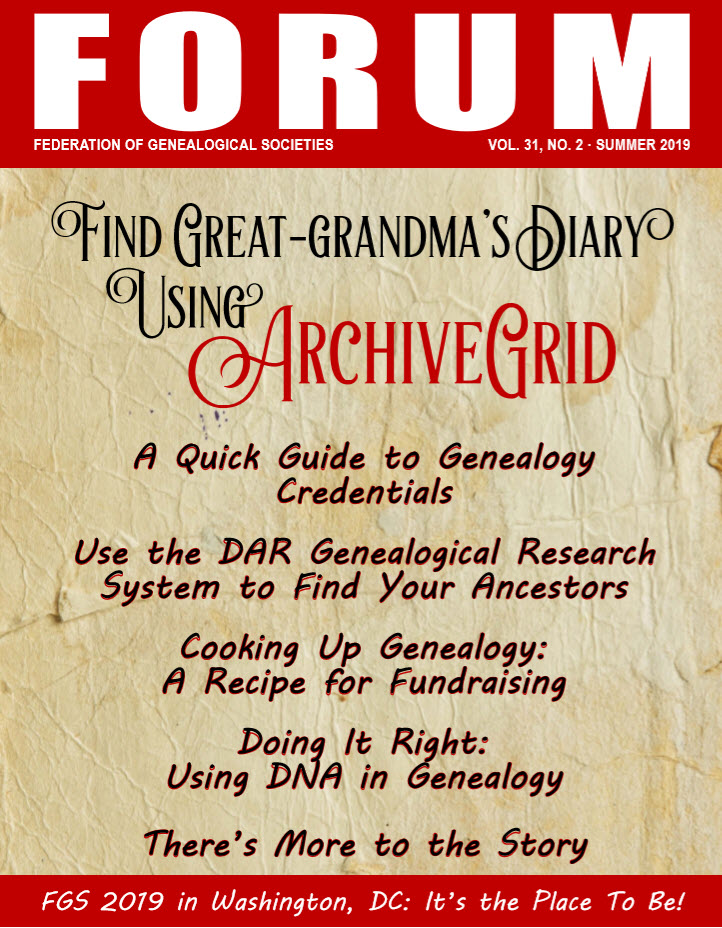Voice Blog - Federation of Genealogical Societies
