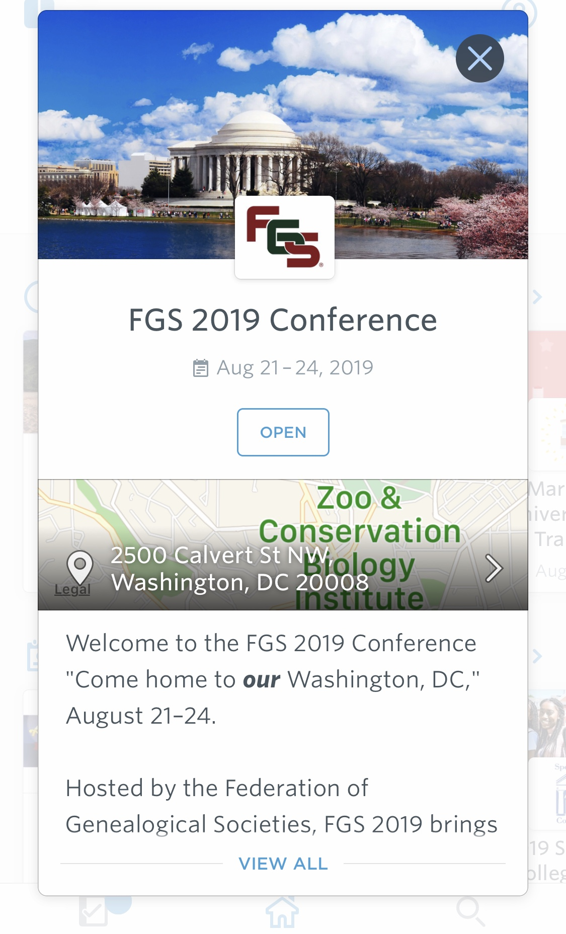 FGS 2019 Conference App Is Available - Federation of