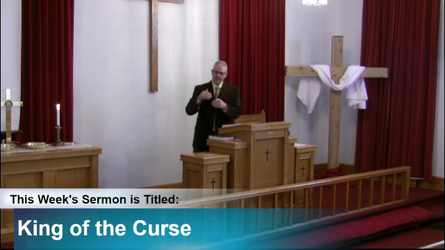 Sermon – King of the Curse