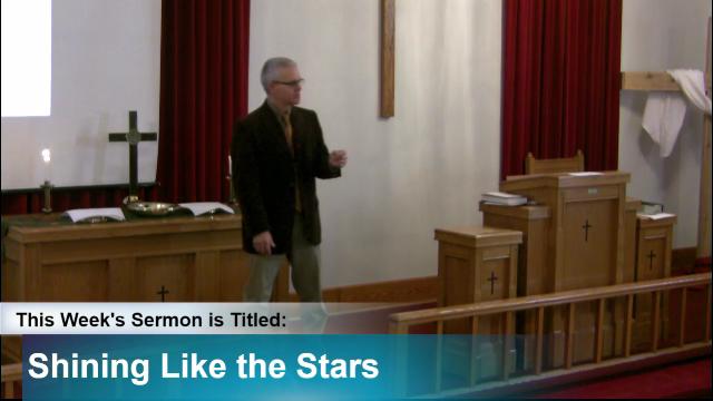 "Sermon – ""Shining Like the Stars"""