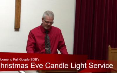Christmas Eve Full Service