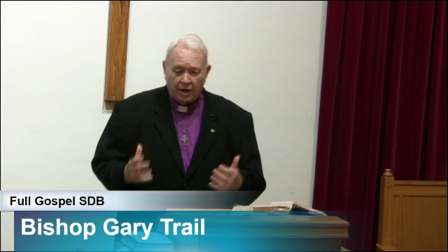 Guest Speaker Bishop Gary Trail