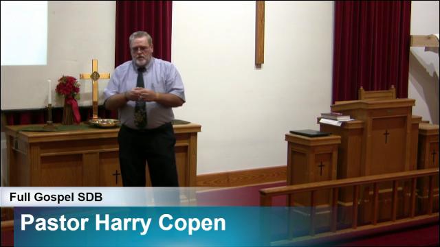 Guest Speaker Pastor Harry Copen