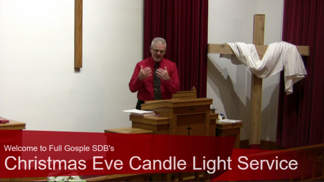 """Christmas Eve Service (2020) – """"There Is Born to You This Day a Savior"""""""