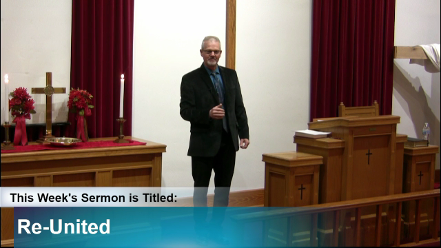 "Sermon – ""Re-United"""