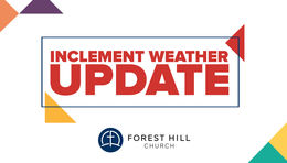 Inclement Weather Updates - All Campuses