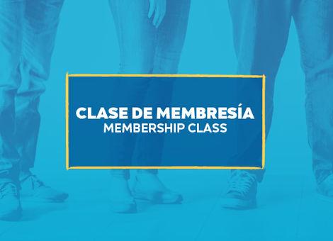 South Blvd. Membership Class / Clase de Membresia