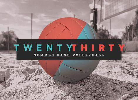 TwentyThirty Summer Sand Volleyball