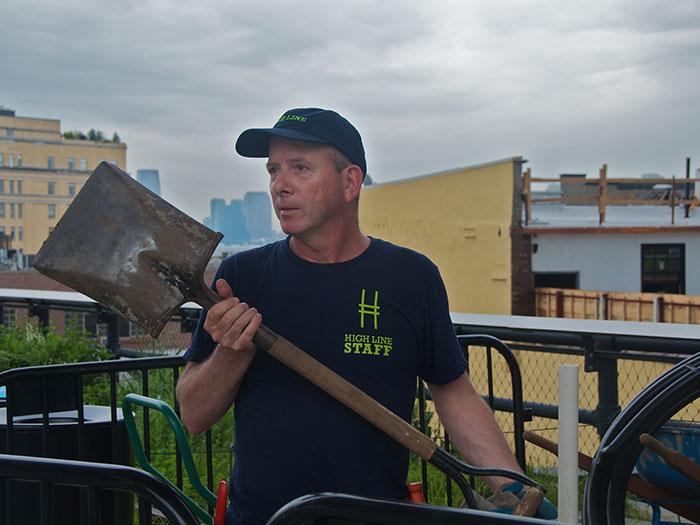 Gardener John Gunderson