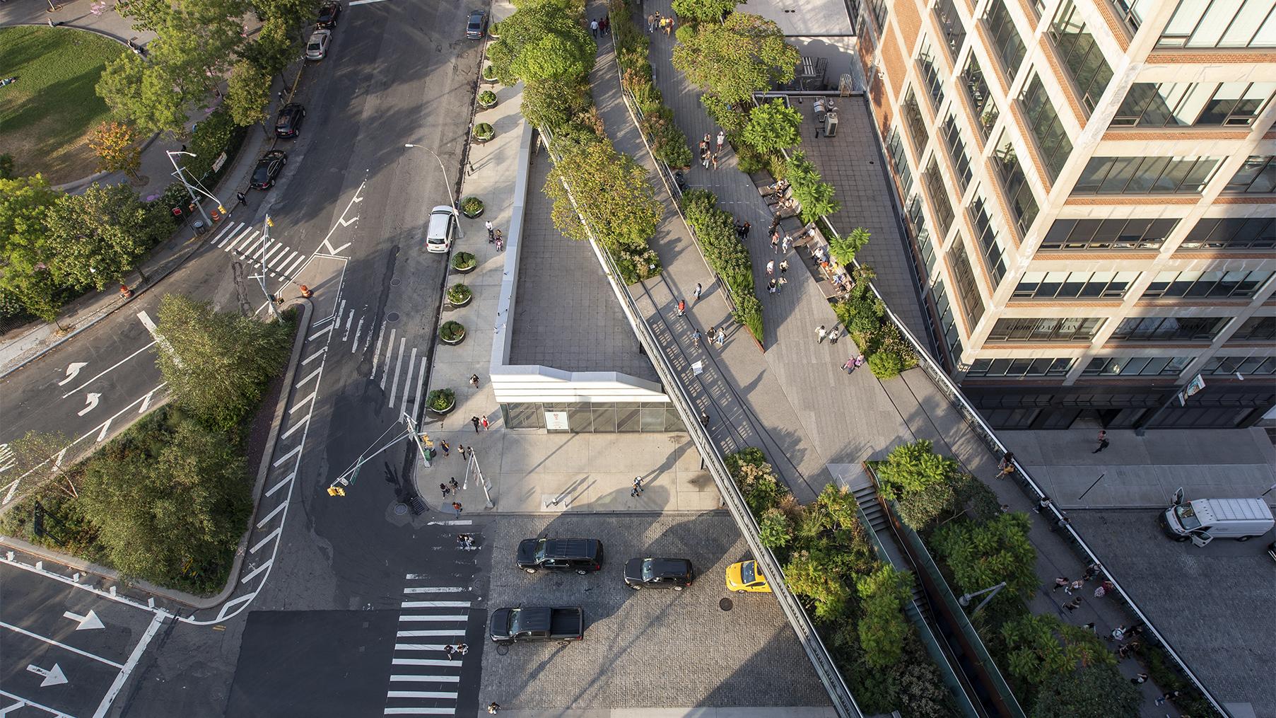 High Line aerial