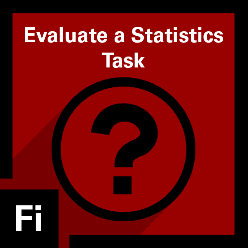 Evaluate a Statistics Task Badge