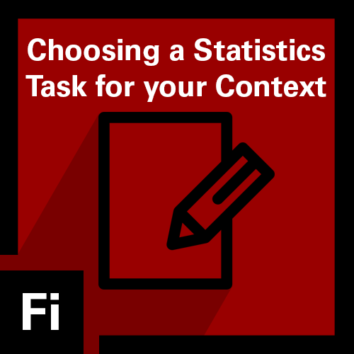 Choosing a Statistics Task for Your Context Badge