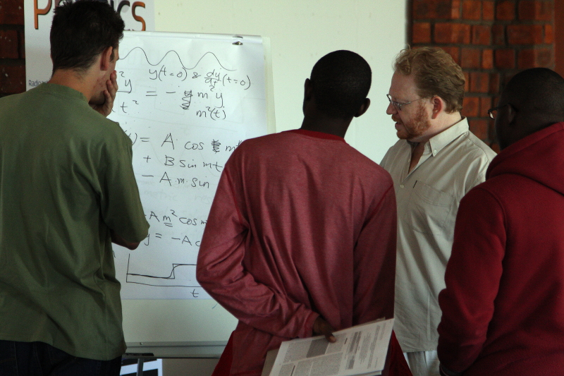 JEDI in Namibia teaching