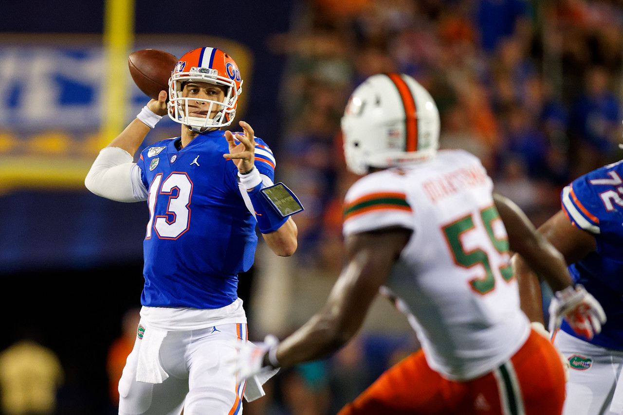 Feleipe Franks vs the Hurricanes
