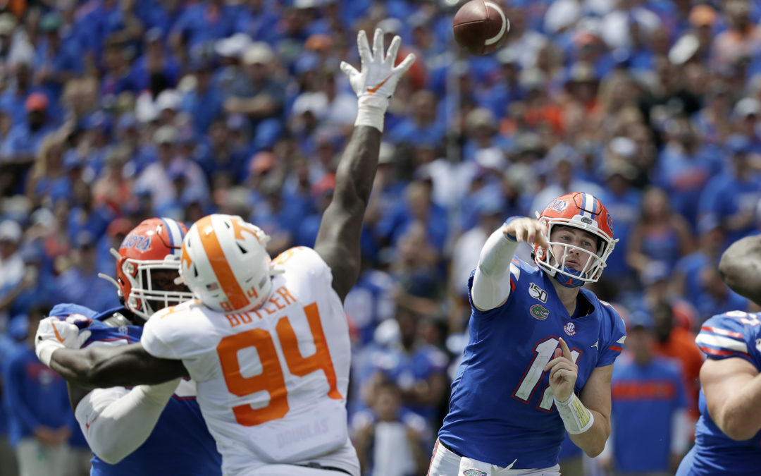 Evaluating the UF Offense After September