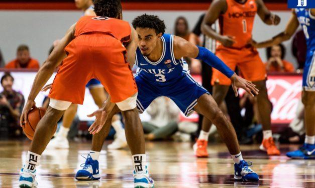 Week 7 '19-'20 ACC Basketball Power Rankings