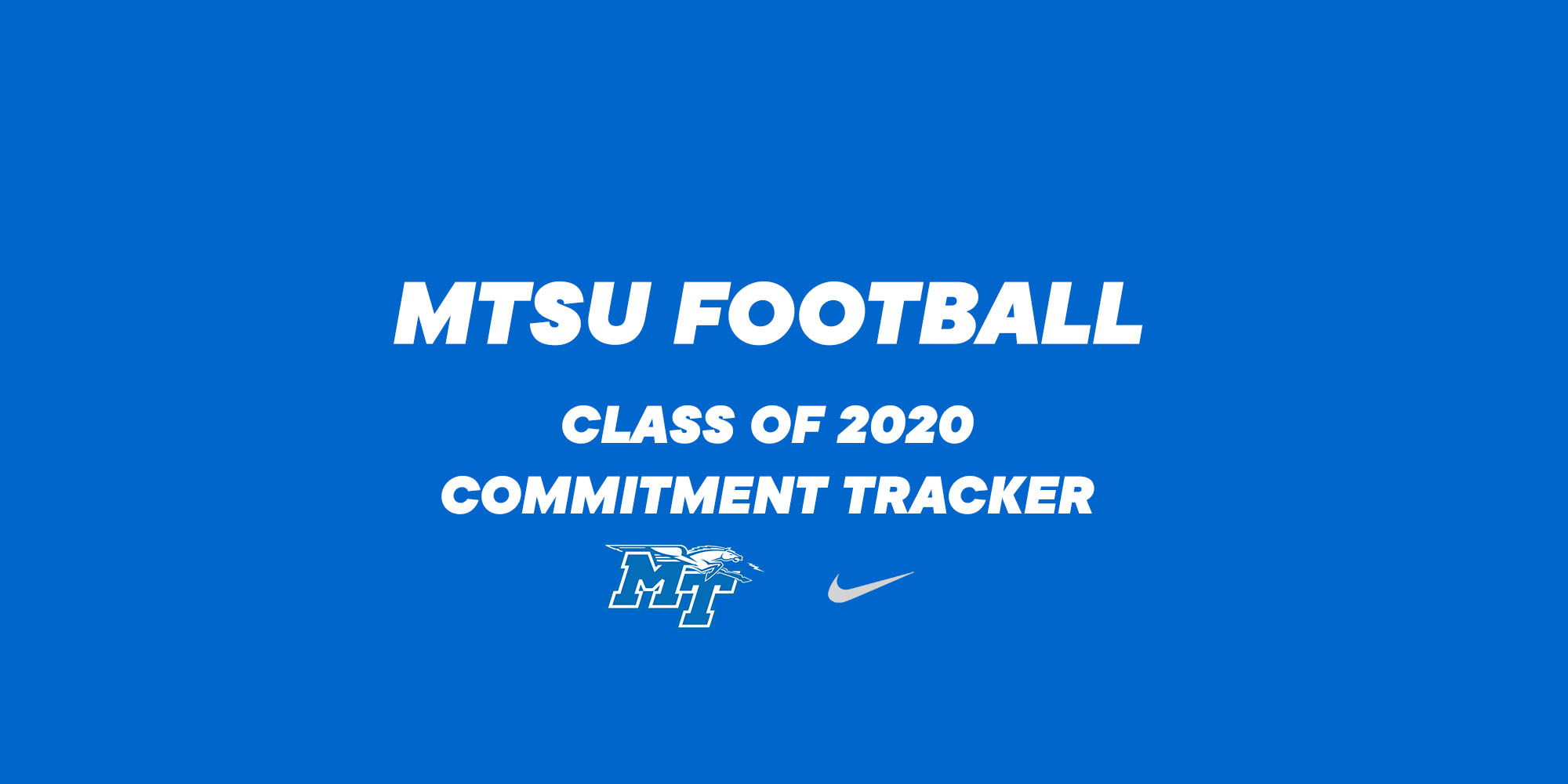 MTSU Football 2020 Commitment Tracker