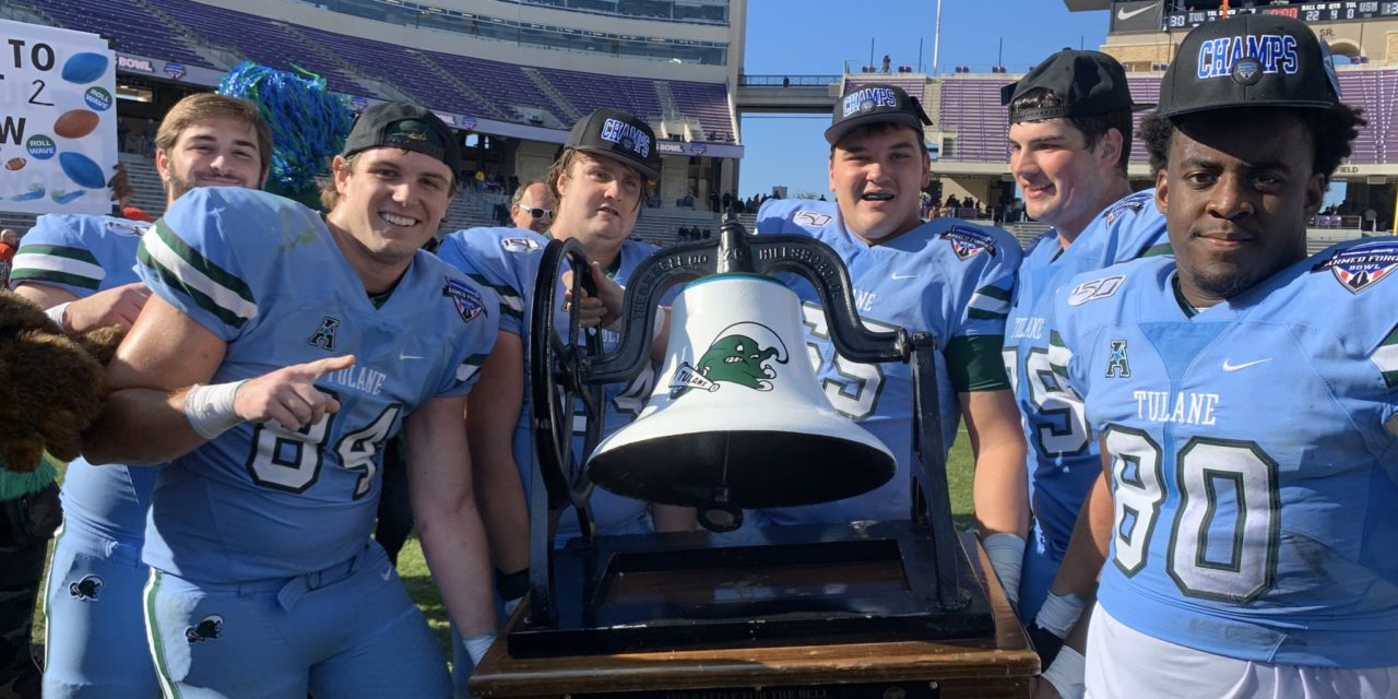 McMillan, Glover Propel Tulane to 2nd-Straight Bowl Victory