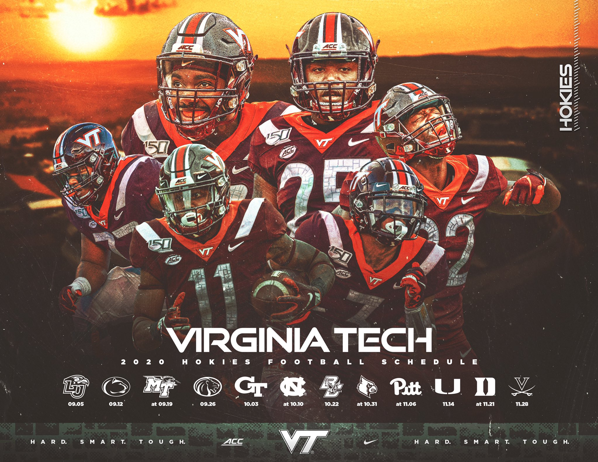 2020 Virginia Tech Football Schedule Preview And Predictions Fifth Quarter