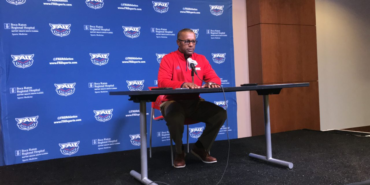 FAU's Taggart Introduces Platform to Help Players Take Action