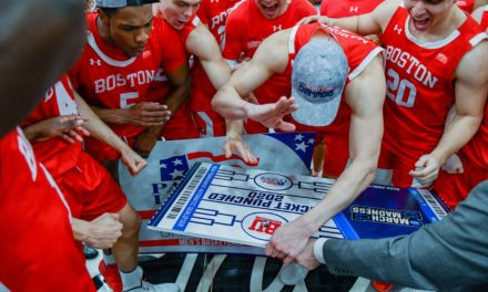 Tickets Punched: Boston U Tops Colgate in Likely Final Tourney Championship of Season