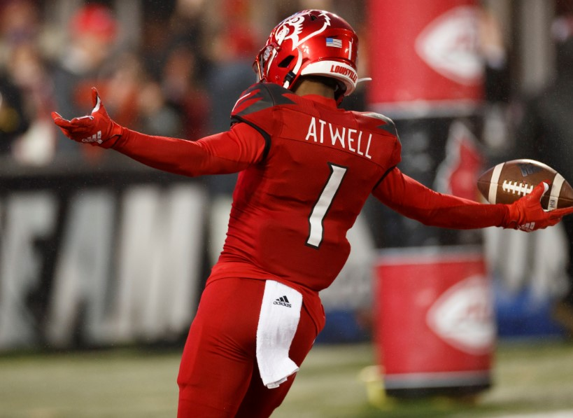 Brandon Radcliff Louisville Cardinals Football Jersey - White