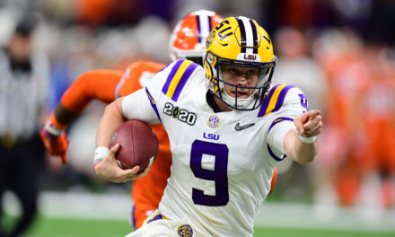 NFL Draft: LSU QB Burrow Selected First by Bengals
