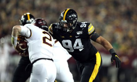 NFL Draft: Iowa DE AJ Epenesa becomes a Bill