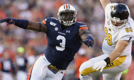 NFL Draft: Falcons Select Auburn EDGE Marlon Davidson
