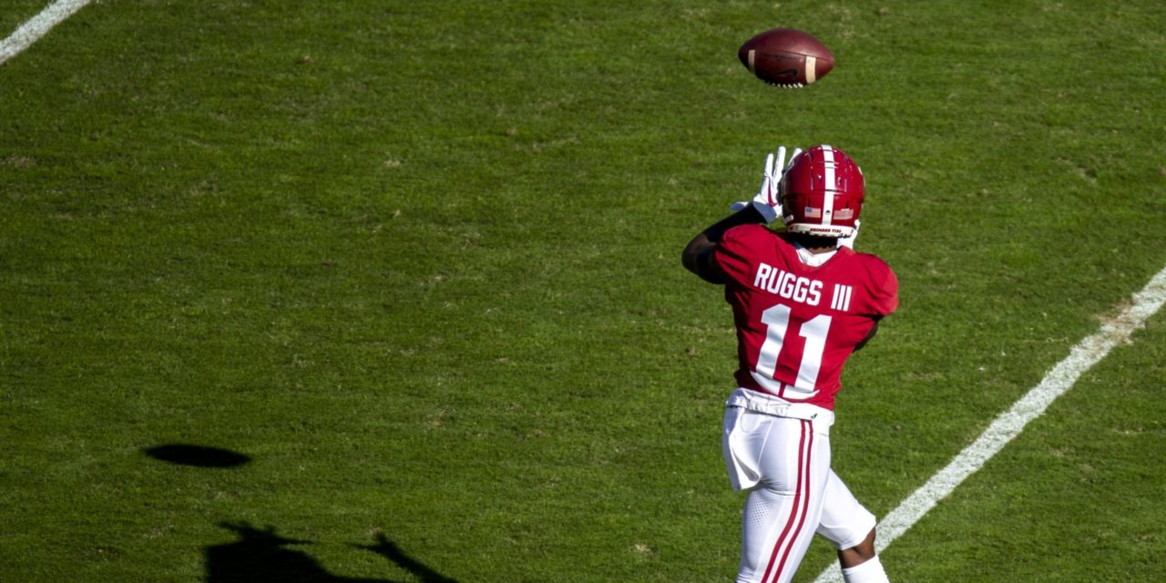 Raiders Select Henry Ruggs III