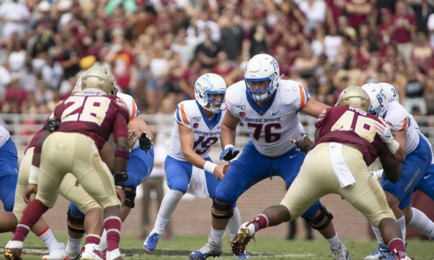 NFL Draft: Vikings Select Boise State OT Ezra Cleveland