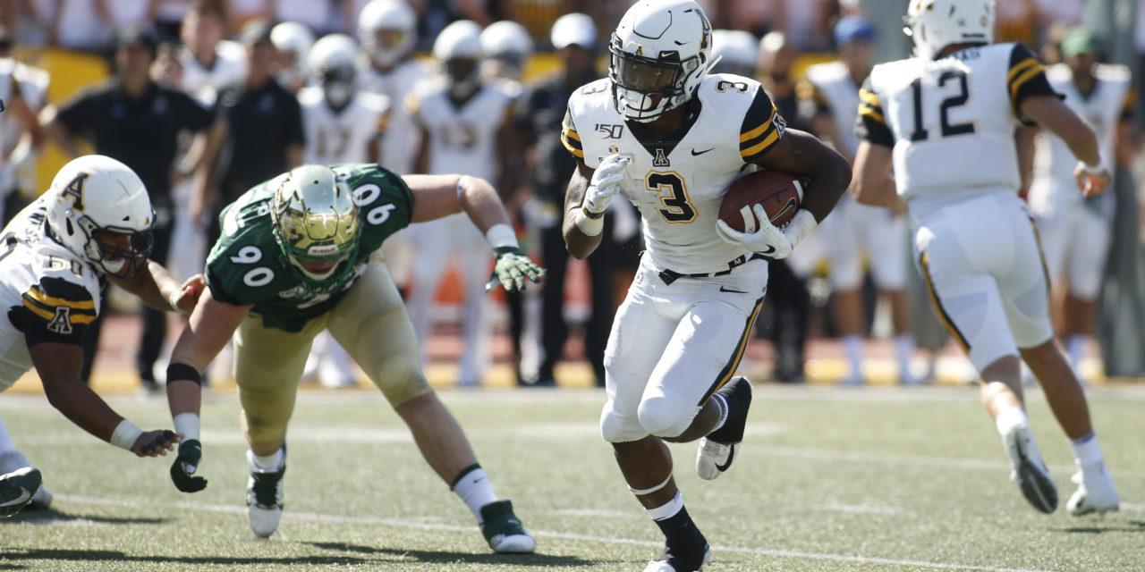 NFL Draft: App State RB Evans Heads to Titans