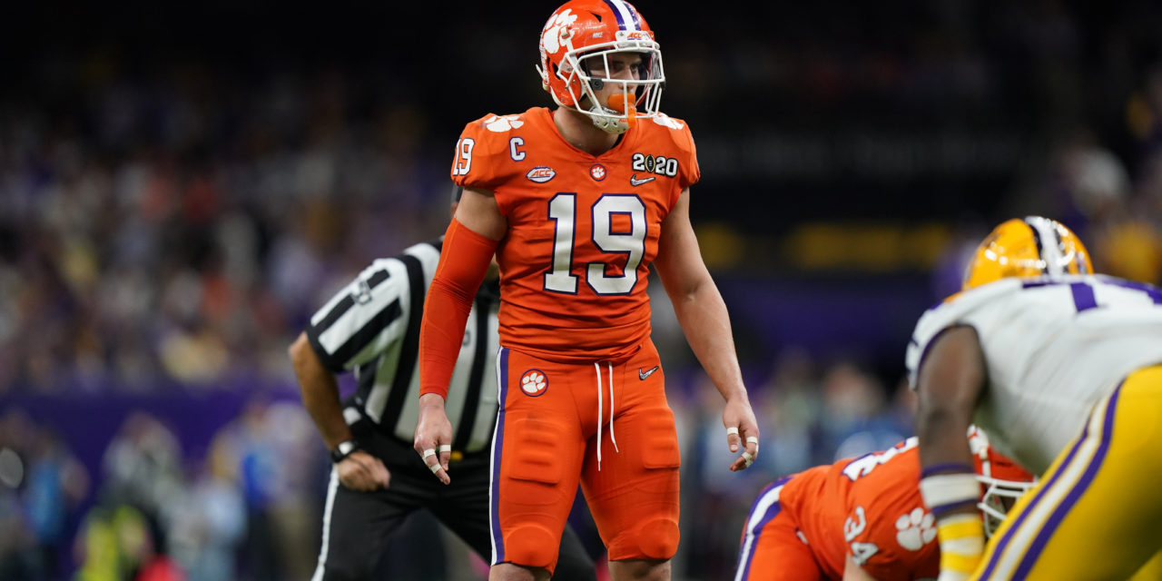 NFL Draft: Clemson's Tanner Muse Heads to Sin City