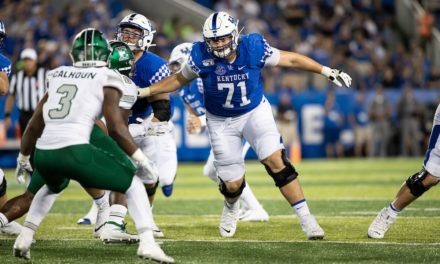NFL Draft: Lions Select Kentucky OG Logan Stenberg
