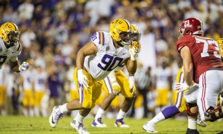 NFL Draft: LSU DT Lawrence Heads to Arizona