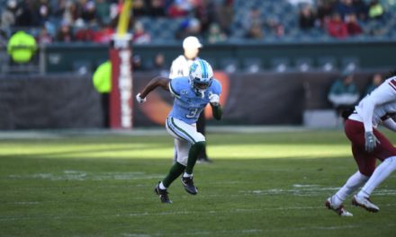Bears Trade Up to Take Tulane WR Mooney