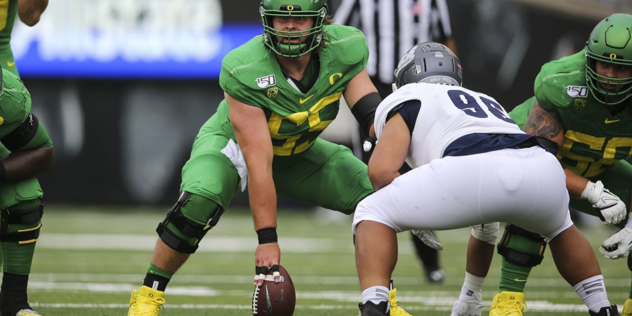 NFL Draft: Green Bay Packers Select Oregon OC Hanson