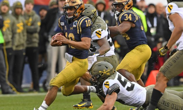 NFL Draft: Dolphins Select Converted Navy QB Perry