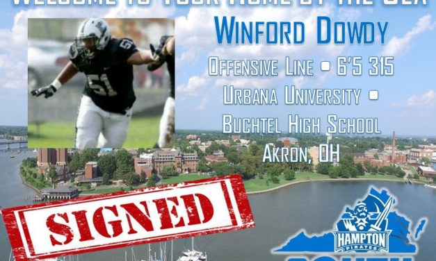After Urbana Closure, Dowdy Finds Home at Hampton
