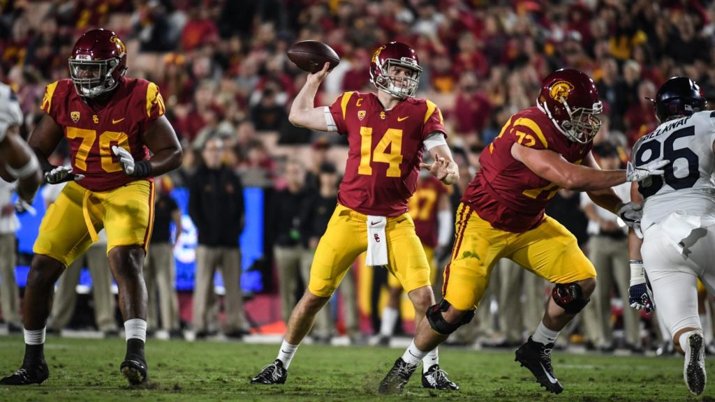 Sam Darnold at USC